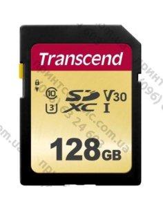 Изображение Карта памяти Transcend 128GB SDXC class 10 UHS-I