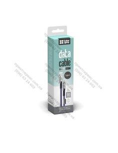 Изображение Кабель Colorway USB Type-C (zinc alloy) 2.4А 1м