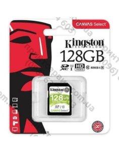 Изображение Карта памяти Kingston 128GB SDXC class 10 UHS-I
