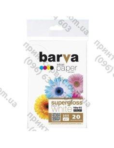 Изображение Фотобумага BARVA 10x15,суперглянец 255 g/m2, PROFI