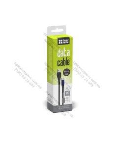 Изображение Кабель Colorway USB - MicroUSB (PVC + led) 2.4А 1м