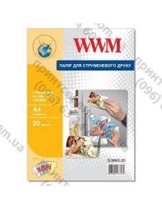 Изображение Фотобумага глянец магнитная WWM A4 (297 x 210 мм)