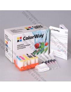 Изображение Комплект картриджей ColorWay Canon IP4200 без чипа