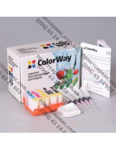 Изображение Комплект ПК ColorWay HP №178 B010/B109/B110
