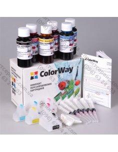 Изображение Комплект ПК ColorWay HP №177 HP 3210 с чипами