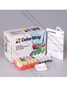 Изображение Комплект ПК ColorWay Canon IP4840/MG5140 с чипом