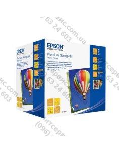 Изображение Бумага EPSON 10х15 Premium Semigloss Photo 500л