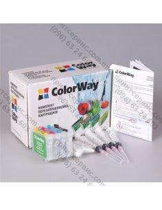 Изображение Комплект картриджей ColorWay Epson