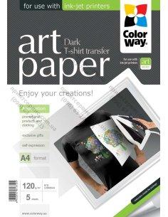 Изображение Фотобумага ColorWay ART д/термопереноса (темные